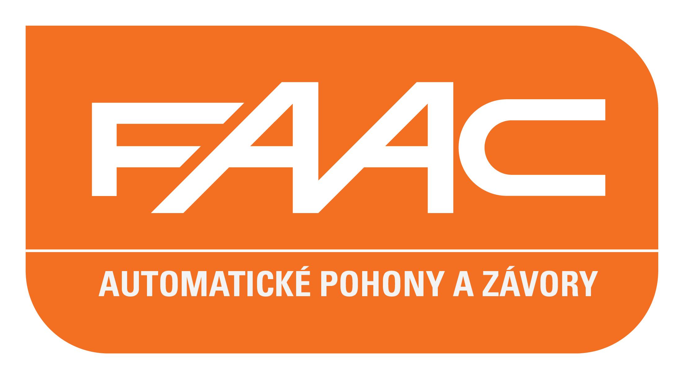 FAAC Automatické pohony a závory